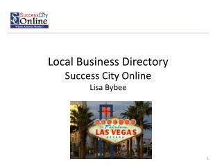 Local Business Directory  Success City Online  Lisa  Bybee