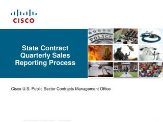 State Contract Quarterly Sales Reporting Process
