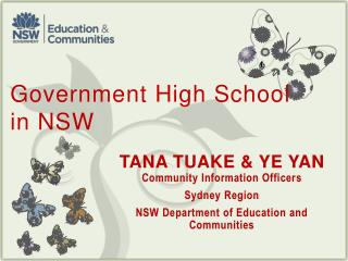 Government High School  in NSW