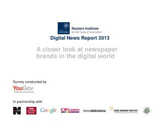 Digital News Report 2013
