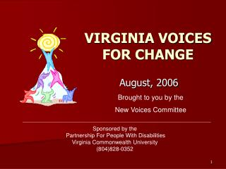 VIRGINIA VOICES FOR CHANGE