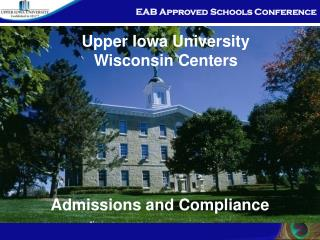 Admissions and Compliance