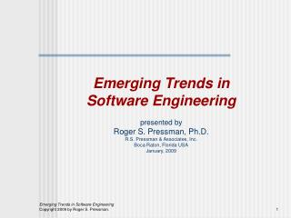 issues trends in software engg The changes needed to meet these challenges will impact the life cycle processes described in part 3: systems engineering and management and on the knowledge, skills and attitudes of systems engineers and the ways they are organized to work with other disciplines as discussed in part 5: enabling systems engineering and part 6: related.