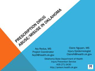Prescription Drug Abuse/misuse in Oklahoma