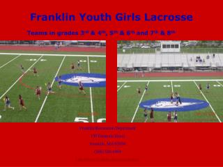 Franklin Youth Girls Lacrosse