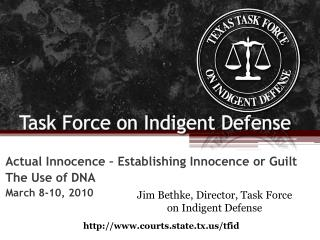Task Force on Indigent Defense