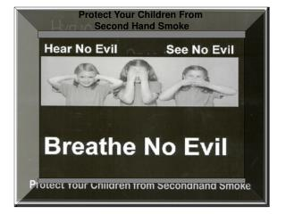 Protect Your Children From Second Hand Smoke