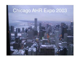 Chicago AHR Expo 2003
