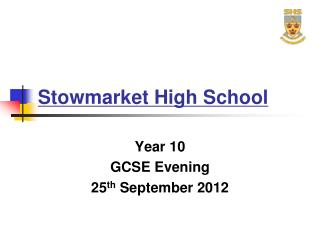Stowmarket High School