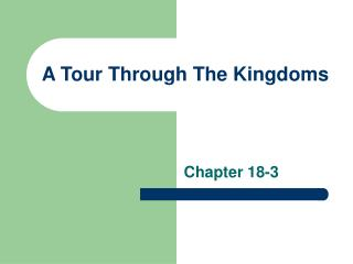 A Tour Through The Kingdoms