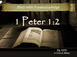 1 Peter 1:2