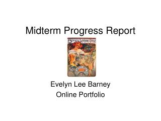 Midterm Progress Report