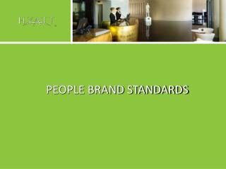 PEOPLE BRAND STANDARDS