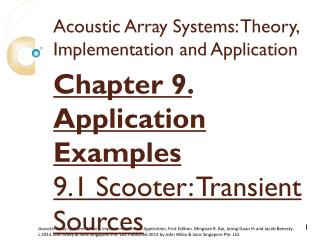 Acoustic Array Systems: Theory, Implementation and Application