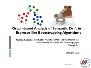 Graph-based Analysis of Semantic Drift in  Espresso-like Bootstrapping Algorithms