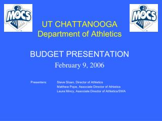 UT CHATTANOOGA Department of Athletics