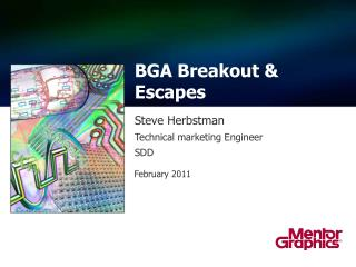 BGA Breakout & Escapes
