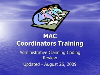 MAC Coordinators Training