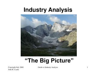 """The Big Picture"""