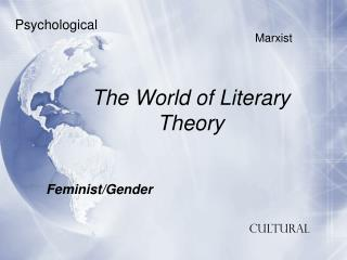 The World of Literary Theory