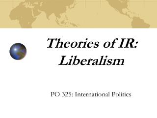 Theories of IR: Liberalism