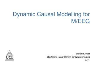 Dynamic Causal Modelling for  M/EEG