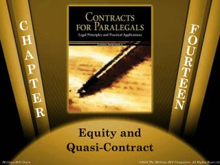 Equity and Quasi-Contract