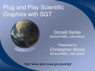 Plug and Play Scientific Graphics with SGT