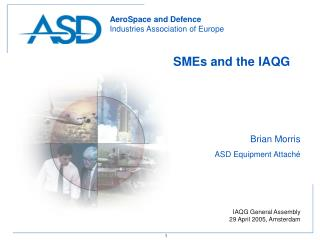 SMEs and the IAQG