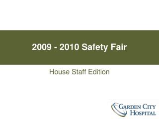 2009 - 2010 Safety Fair