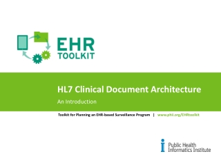 Clinical Document Architecture