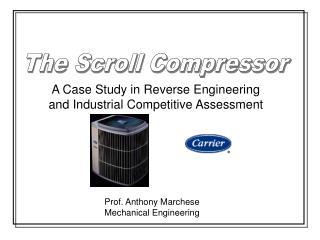 Prof. Anthony Marchese Mechanical Engineering