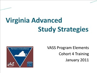 Virginia Advanced                     Study Strategies