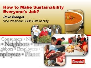 How to Make Sustainability Everyone's Job?