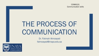 Therapeutic Communications