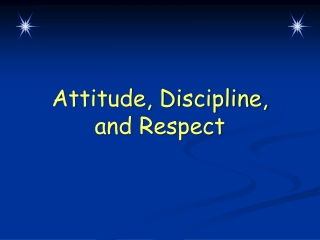 Positive Attitudes Leadership