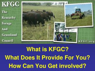 What is KFGC? What Does It Provide For You? How Can You Get involved?