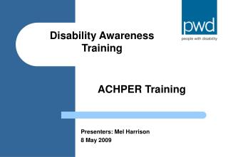 ACHPER Training