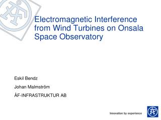 Electromagnetic Interference from Wind Turbines on Onsala Space Observatory