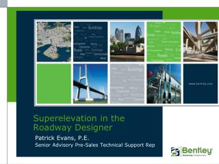 Superelevation in the Roadway Designer