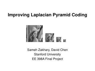 Improving Laplacian Pyramid Coding