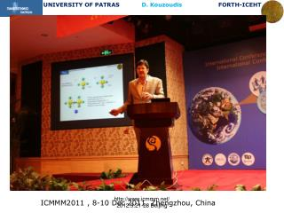 ICMMM2011 , 8-10 Dec 2011, Zhengzhou, China