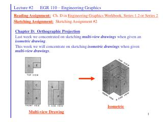 Lecture #2      EGR 110 – Engineering Graphics