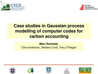 Case studies in Gaussian process modelling of computer codes for carbon accounting