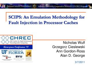 SCIPS: An Emulation Methodology for Fault Injection in Processor Caches