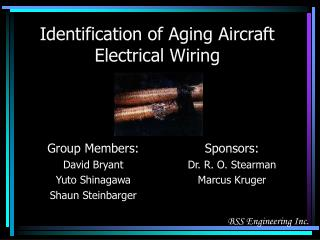 Identification of Aging Aircraft Electrical Wiring