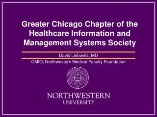 Greater Chicago Chapter of the Healthcare Information and Management Systems Society