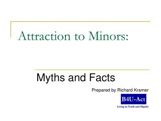 Attraction to Minors: