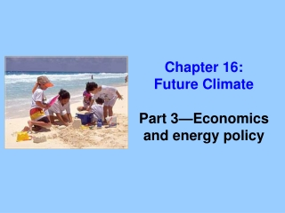 Chapter 16: Future Climate Part 3—Economics and energy policy