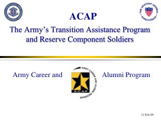 The Army's Transition Assistance Program and Reserve Component Soldiers
